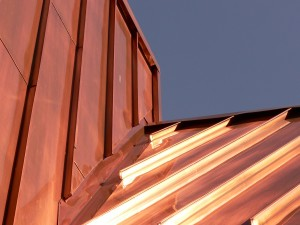 Aesthetic appeal of metal roofing